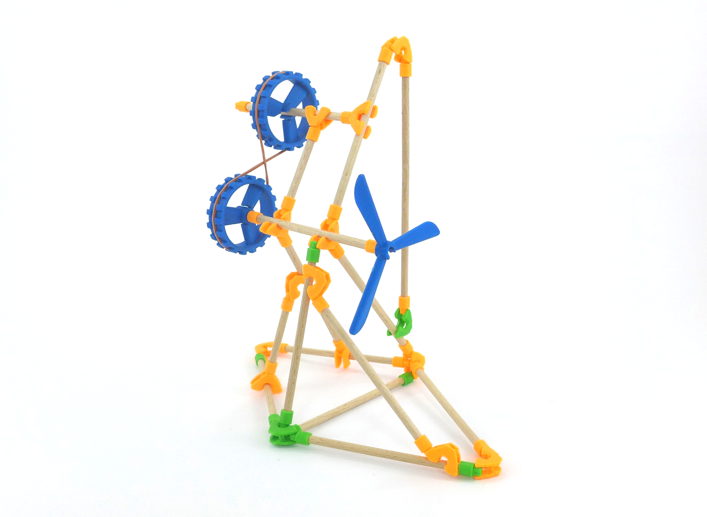 Movements possible with pulleys